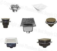 Roof drains from leading manufacturers wade jay r smith mifab commercial and light commercial floor sinks sanitary floor sink from leading manufacturers wade smith mifab and zurn aloadofball Choice Image