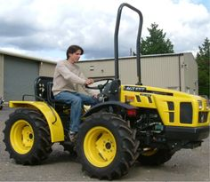 tiny tractors - Bing Images As long as it does the job I wouldn't mind having a smaller tractor.