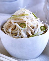 Rice Noodle Salad with Chicken // More Great Noodle Salads: http://fandw.me/mGO #foodandwine
