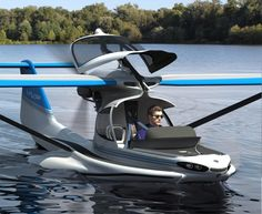 World's Most Advanced Plane (MVP) is designed as a light sports amphibious aircraft that doubles as boat. Amphibious Aircraft, Amphibious Vehicle, Light Sport Aircraft, Flying Vehicles, Float Plane, Flying Car, Aircraft Design, Amphibians, Cool Stuff