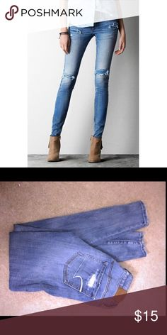 👖American Eagle Jeans💕 💖American Eagle Outfitters👖Size 2  💖 Price Firm but open to offers👖I Ship same or next day 💖 Skinny / leggings fit👖 Bundle for discount💖 Happy Poshing👖 American Eagle Outfitters Jeans Skinny