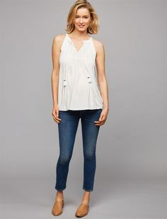Pea Collection Citizens Of Humanity Secret Fit Belly Avedon Ankle Maternity Jeans