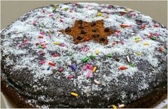 Beautiful Double Fudge Chocolate Cake recipe.. On the special occasion of our festival Eid ul Adha.. Top it with some Thick Chocolate Sauce, desiccated coconut, colored sprinkles and the Chocolate chips.