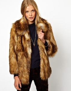 "ASOS Vintage Faux Fur Coat {take 10% off on all orders at ASOS w/ code ""NOVEMBER10"" or $20 off on orders of $130+ w/ code ""ASOS20OFF"" thru 11/10}"