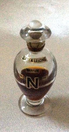 """*Sealed Vintage Lucien Lelong """"N"""""""