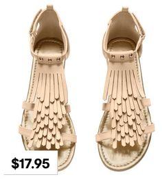 H&M Sandals beige