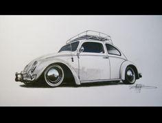VW Beetle by mncristy.deviantart.com on @DeviantArt