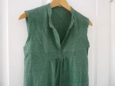 Sleeveless version of Tova dress-turned out really cute. I will be making this again.