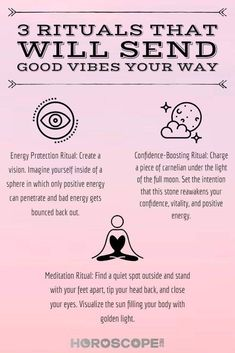 3 Rituals That Immediately Send Good Vibes Your Way These easy spells will help you feel happier, calmer, and more focused than ever before. Protect your energy, boost your confidence and center yourself! Chakra Meditation, Atem Meditation, Spiritual Meditation, Spiritual Cleansing, Spiritual Decor, Meditation Apps, Morning Meditation, Morning Ritual, Chakra System