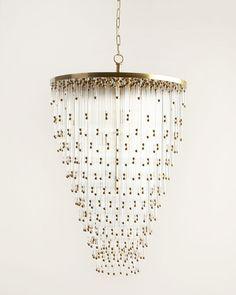 Visual Comfort Cascade Five-Light Chandelier