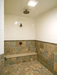 41 - Bathroom Inspiration | Michael David Design Center | #interiordesign #bathroom #tiledesign #luxuryhome #masterbath #shower #dreamhome #custom