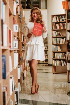 """Reclama la ciorapi"" ⋆ Alexandra Hustiu Bibire White Dress, Vintage, Dresses, Style, Fashion, Vestidos, Swag, Moda, Fashion Styles"