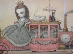 PAINTINGS BY MARK RYDEN | Mark Ryden: The Gay 90′s | SheWalksSoftly