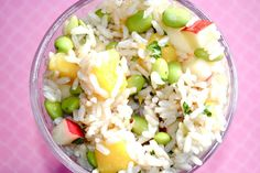 Mango Brown Rice Salad- love when I find mango recipes AND Mangoes are on sale at Giant! :)