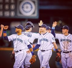 Mariners win 5-1 over the Rangers!!