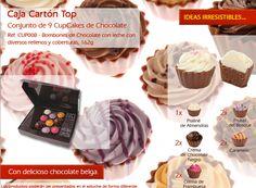 ¡Conoce la variedad de sabores de nuestros deliciosos cupcakes!