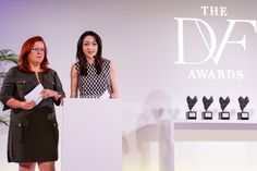 Honorees Noha Khatieb and Liron Peleg-Hadomi #DVFAwards BFA NYC
