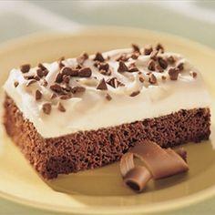 Irish Cream Brownie Dessert | Organic Recipe Book