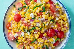 Best Corn Salad Recipe - How To Make Corn Salad