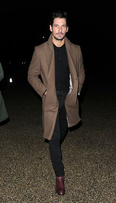 David Gandy attend Gucci and GQ party at London's Serpentine Sackler Gallery on February 2 2017 in London England
