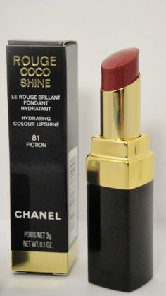 CHANEL ROUGE COCO SHINE 81 FICTION