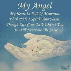 So so touching and loving! Hope to see you up in your Heaven.