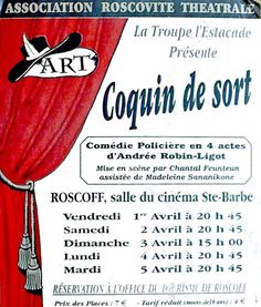 Troupe de l'Estacade - Roscoff: Coquin de sort  http://troupedelestacade.blogspot.fr/search/label/Coquin%20de%20sort