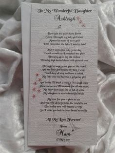 gifts from a mother to her daughter on her wedding day - Google ...