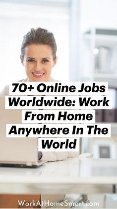 Work From Home Companies, Work From Home Jobs, Companies Hiring, Make A Plan, Business Money, Leadership Development, Online Jobs, Earn Money, Saving Money