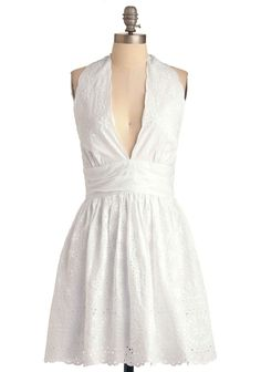 I would love to wear something like this but think the low neckline would make me a little self conscious:/