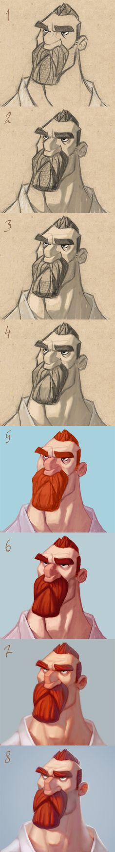 Patri Balanovsky -- Workshop [link] ✤ || CHARACTER DESIGN REFERENCES…