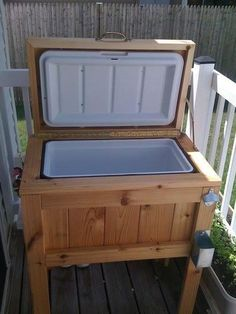 Patio Deck Cooler Stand