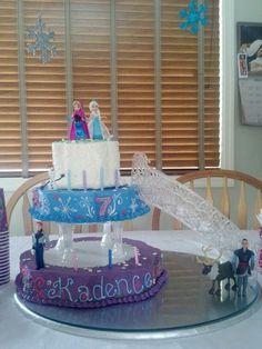 Disney's Frozen Theme Cakes   My Disney's Frozen themed cake