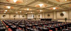 Delfines Hotel & Casino cuenta con 14 elegantes salas de reuniones, entre los cuales se encuentra uno de los mayores centros de convenciones de Lima. El elegante Salón Mediterráneo puede acomodar hasta 1.200 asistentes, por lo que es el lugar ideal para realizar conferencias, recepciones de negocios y otros eventos de gran tamaño.