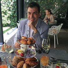 Comiendo con @ramonfreixa en @hotelunico descubriendo su delicioso brunch