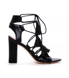 Luz Lace-Up Sandals