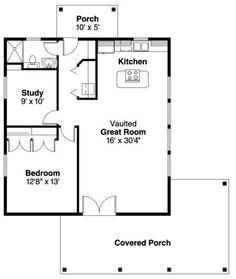 Floor plan..Houseplan 035-00265