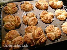 Fotorecept: Cesnakové muffiny Breakfast, Creative, Basket, Morning Coffee, Morning Breakfast