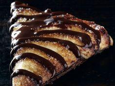Tarte feuilletée chocolat-pommes de Christophe Felder - Recettes