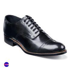 """Navy//Black Men/'s Formal Dress Shoes Alex D /""""Lawton/"""" Cap Toe Oxford"""