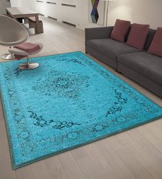 vintage chenille rugs heriz by cotswold mat co   notonthehighstreet.com