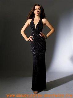 Sexy neue Abendkleider 2012 aus Chiffon kolumne rückenfreie Abendmode V-Ausschnitt