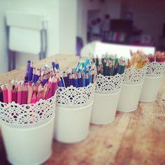 Die 8 Besten Bilder Von Stiftaufbewahrung Organizers Craft