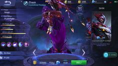 Gear Hero Zhask Mobile Legend Terkuat Paling Baru