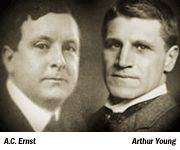 Alwin C Ernst and Arthur Young