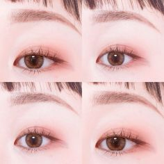 Korean makeup tips - Buy duplicates of the favorite makeup items at a time if finances allows you can. You should have these in handy … in 2019 Korean Makeup Look, Korean Makeup Tips, Asian Eye Makeup, Korean Makeup Tutorials, Asian Make Up, Korean Make Up, Eye Make Up, Simple Makeup, Natural Makeup