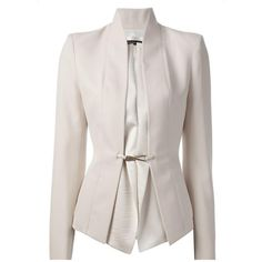 Ericdress Elegant Solid Color Slim Blazer 12743199 - EricDress.com ($22) ❤ liked on Polyvore featuring outerwear, jackets and blazers