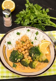 RETETE DE MANCARE DE POST | Diva in bucatarie Tempura, Pesto, Broccoli, Spaghetti, Curry, Nicu, Vegetables, Cooking, Food