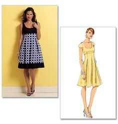 B5317, Misses' Dress