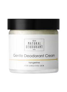 Natural Deodorant Co Gentle Deodorant Cream Tangerine